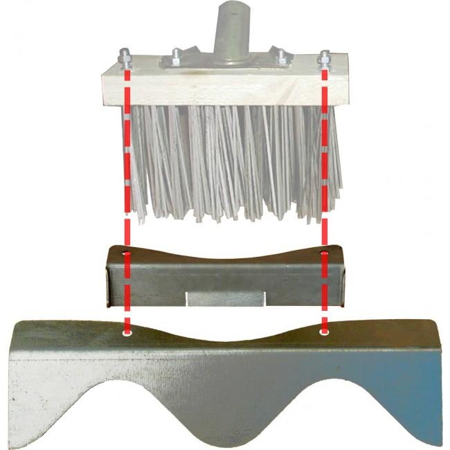 Racloir acier – pour grattage des mousses – pour balai métal DALEP