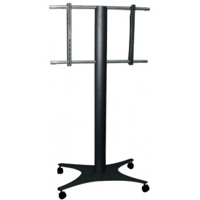 Support écran plat - sur roulettes - poids maxi 50 kg - Magellano