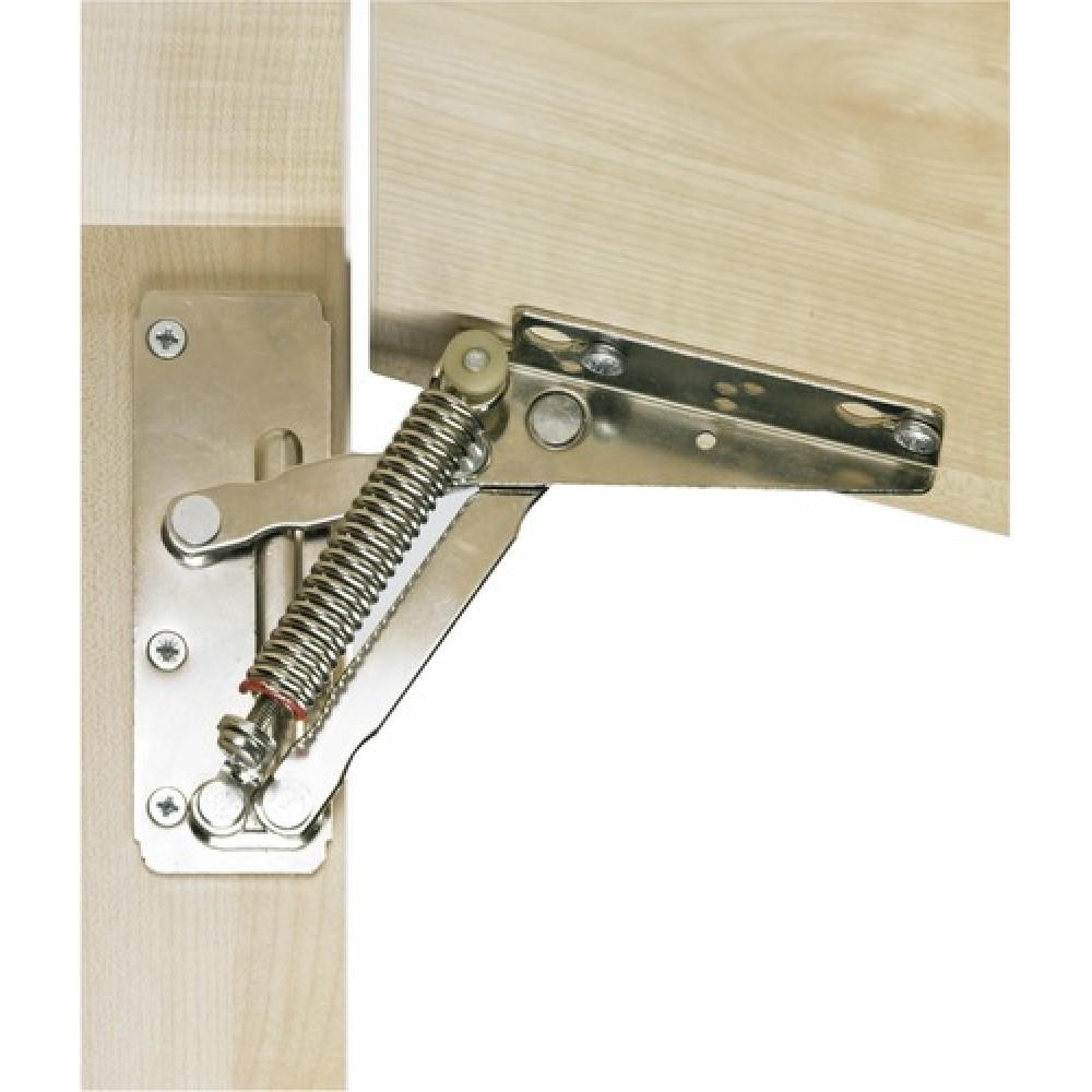 compas de relevage ressort pour abattants lift exact 75 hettich bricozor. Black Bedroom Furniture Sets. Home Design Ideas