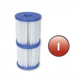 Lot de 2 cartouches de Type (I) pour pompe à filtration 58381 BESTWAY