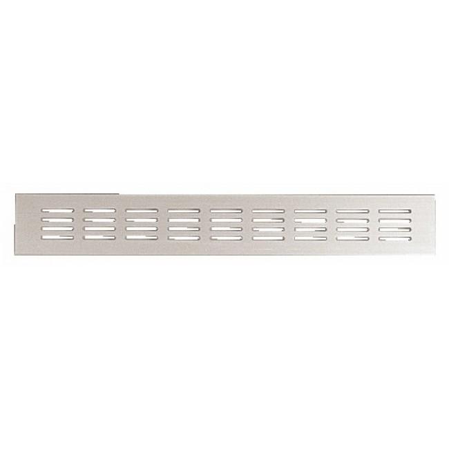 grille d 39 a ration aluminium 80x300 renson bricozor. Black Bedroom Furniture Sets. Home Design Ideas