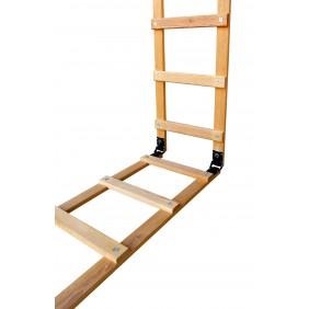 Echelle de toit - pour couvreur - bois - pliante OUTIFRANCE