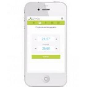 Thermostat Sans Fil Intelligent (version pro) Qivivo QTW11-GW-AU-EU DANFOSS