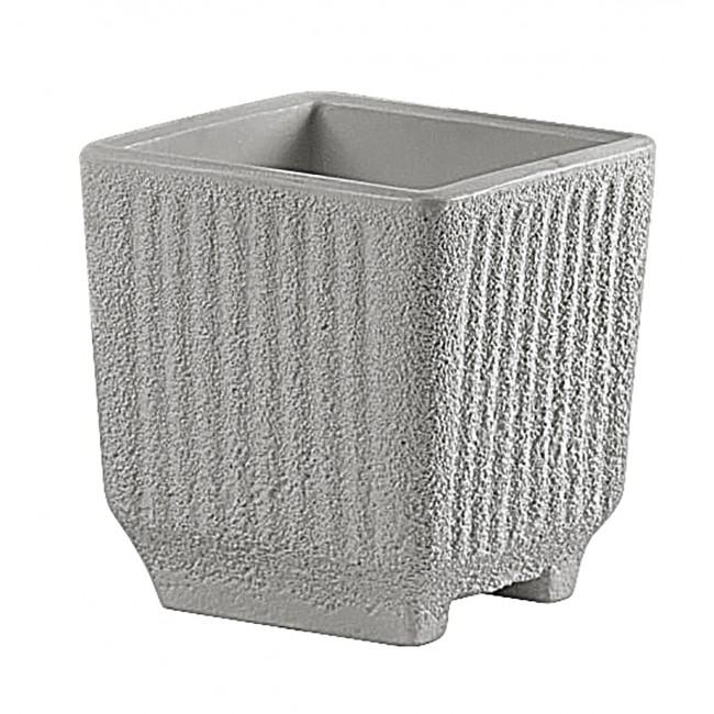 Bac carré avec réserve d'eau gris - 57 litres - Sequoia 13775