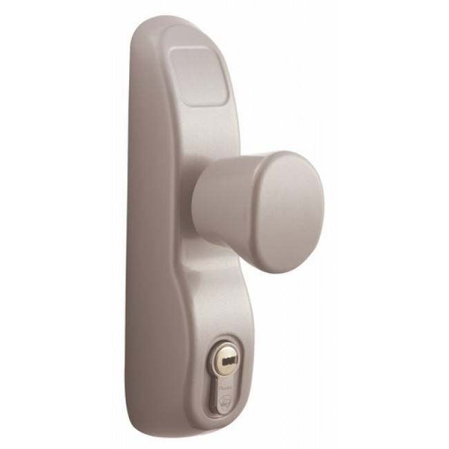 poign e bouton condamnable par cl pour serrure antipanique pe 13 23av vachette bricozor. Black Bedroom Furniture Sets. Home Design Ideas