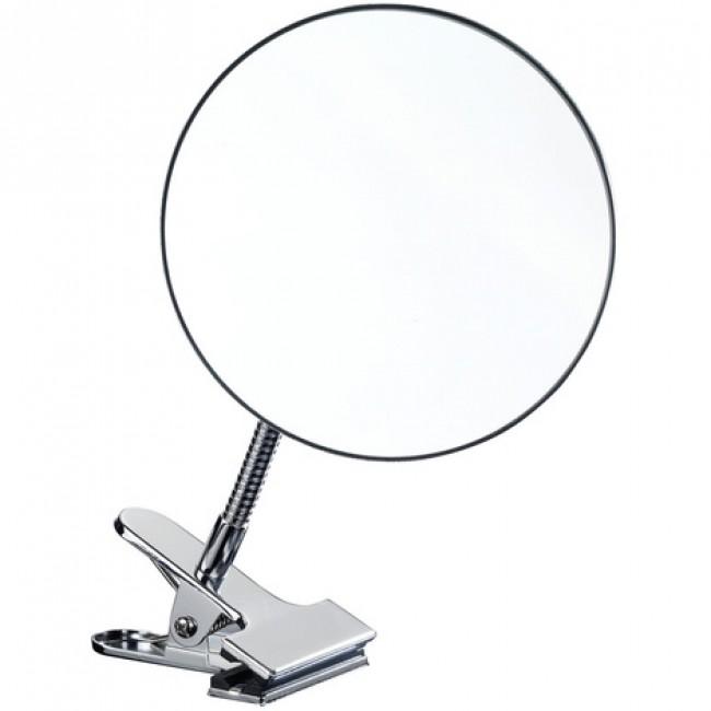Miroir grossissant x5 - à bras flexible - attache à pince WENKO
