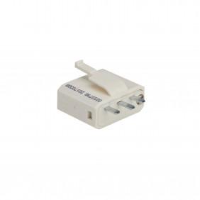 Fiche DCL 2P+T - connexion à vis - blanc DEBFLEX