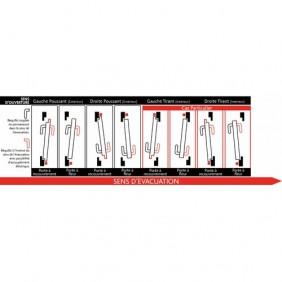 Serrure électrique d'urgence à verrouillage automatique - SVP 6000 DORMA