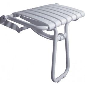 Siège de douche escamotable à béquille PELLET 047632 PELLET ASC