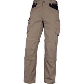 Pantalon de travail -  transformable - renforcé - Mach5 SPRING 3en1 DELTA PLUS