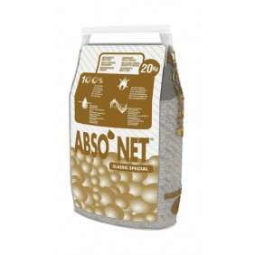 Absorbant minéral - Sac 20 kg - Abso'Net Classic Spécial BIC
