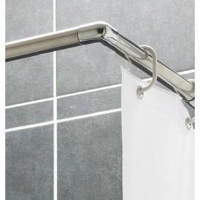 Tringle pour rideau de douche - ajustable PRESTO