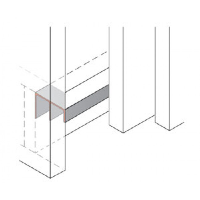 profil de guidage inf rieur stb 35 hettich bricozor. Black Bedroom Furniture Sets. Home Design Ideas