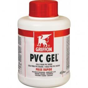 Colle canalisation rigide PVC - évacuation ou sous pression - en gel GRIFFON