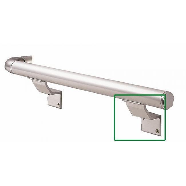 Support à visser pour rampe d'escalier aluminium RIVINOX