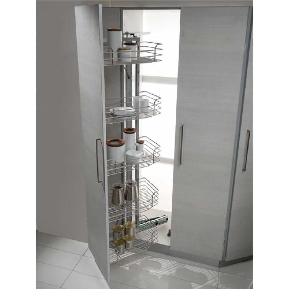 colonnes placard rotatives de cuisine inoxa bricozor. Black Bedroom Furniture Sets. Home Design Ideas