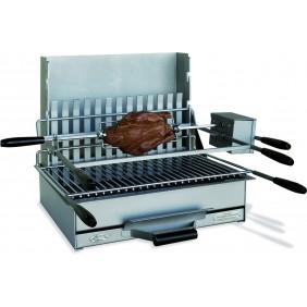 Ensemble grillade N°6B - cuisson verticale et horizontale DELTA