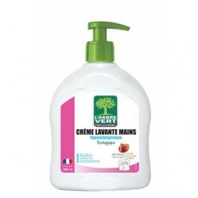 Crème lavante pour les mains - écologique - hypoallergénique ARBRE VERT