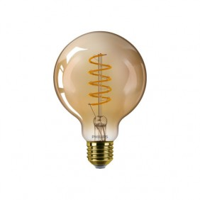 Ampoule LED - 5,5W - E27 - Globe - ambrée PHILIPS (SIGNIFY FRANCE)