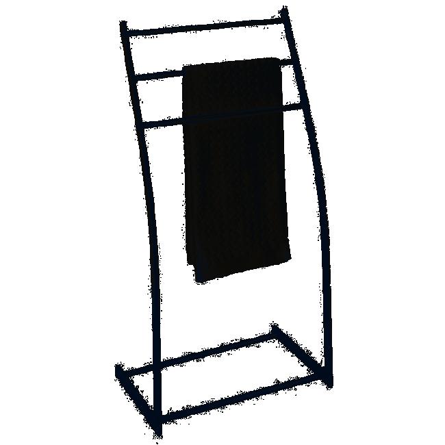 Porte-serviette - 3 barres - Aluminum - Almeria WENKO