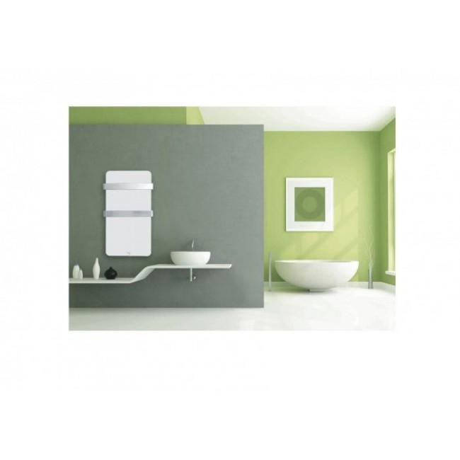 Sèche serviettes électrique Xtal Bagno blanc HAVERLAND