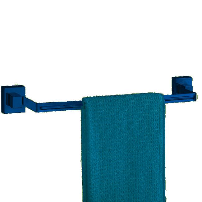 Porte-serviettes uno Quadro Vacuum - ABS&Acier inoxydable WENKO