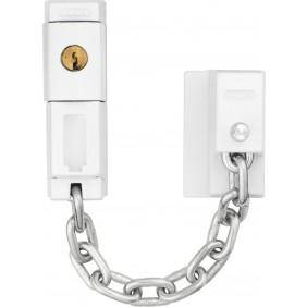 Entrebâilleur à chaîne et clé pour fenêtre et porte-fenêtre - SK79 ABUS