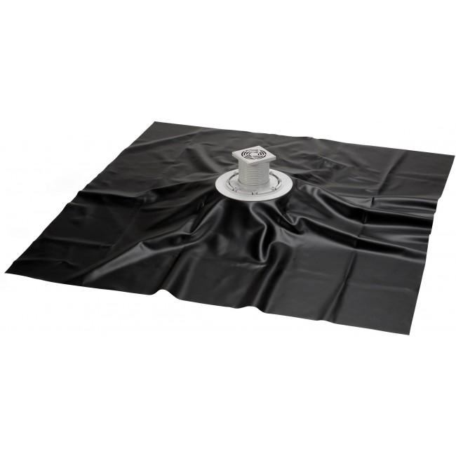 Bonde douche à carreler 150x180 cm + film d'étanchéité -Turbosol