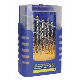 Coffret de 25 forets bois - haute performance FAMMAB