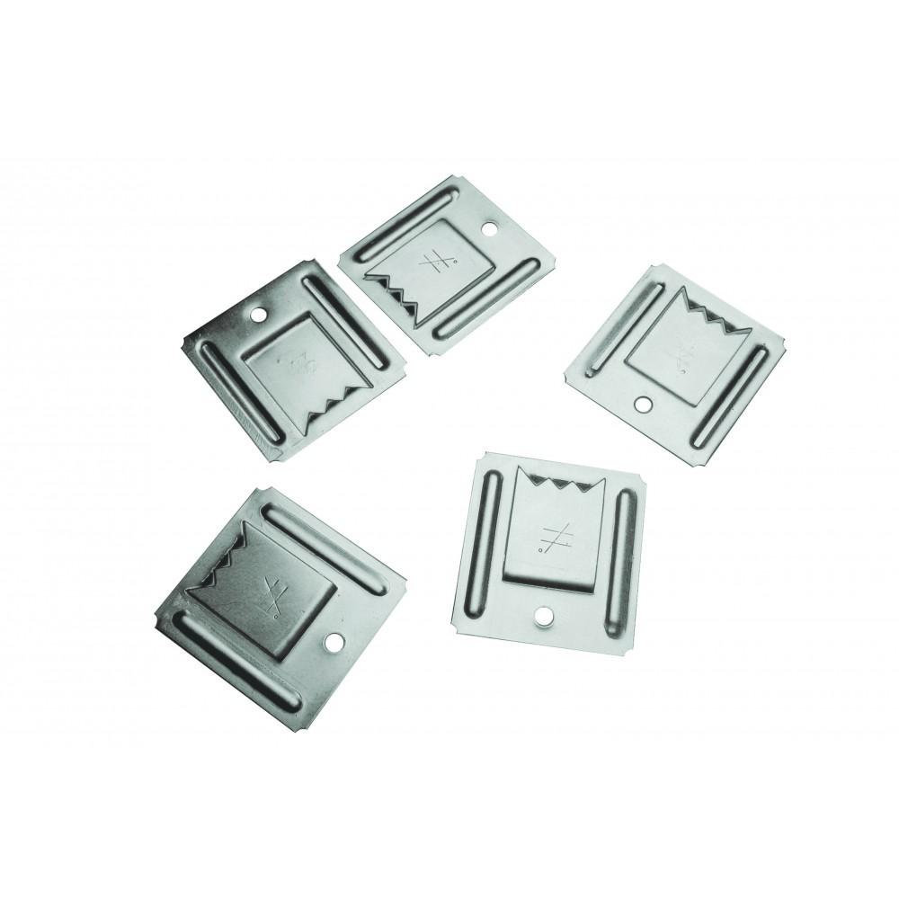 Clips inox pour lambris pvc seau de 150 clips sft for Lambris pvc pour exterieur