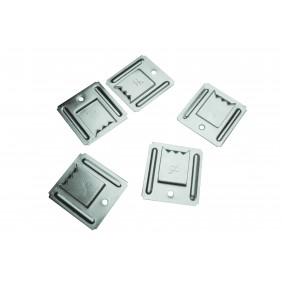Clips inox pour lambris PVC - seau de 150 clips - SFT SIMPSON Strong-Tie