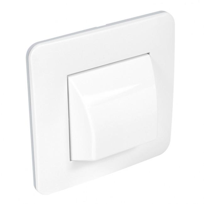 Sortie de câble complet - blanc brillant - Casual DEBFLEX