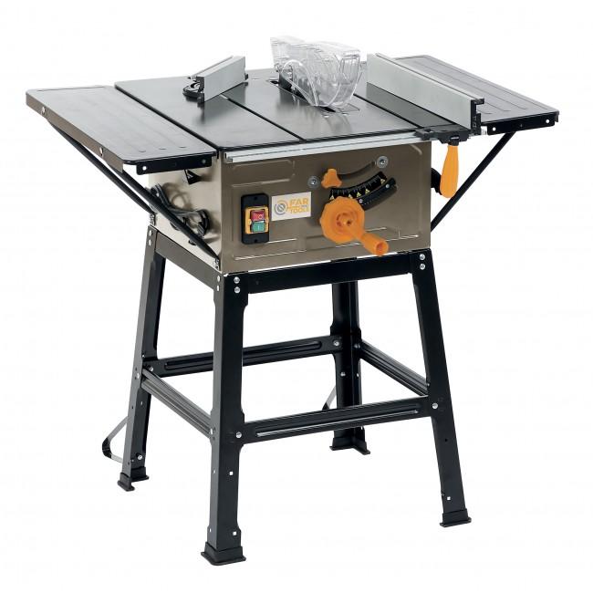 Scie de table - puissance 1600 W - disque 250 mm - 24 dents - MJ 4D FARTOOLS