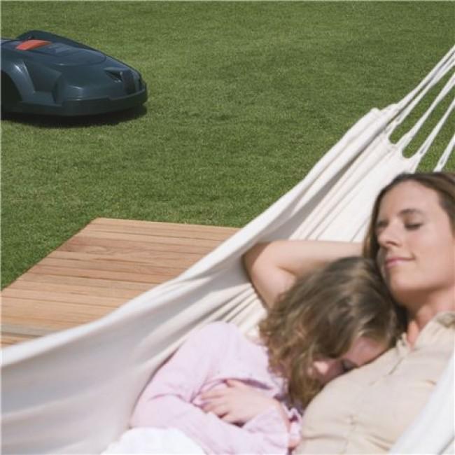 robot tondeuse automower 310 surface de tonte 1000 m2. Black Bedroom Furniture Sets. Home Design Ideas