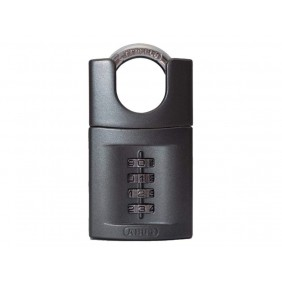 Cadenas à code - 4 molettes - anse acier cémenté - 158CS/50 ABUS