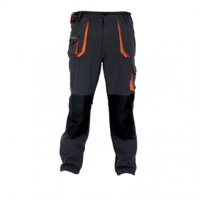 Pantalon Softshell inserts rétro-réfléchissants 20132 Noir/Gris TERRAX