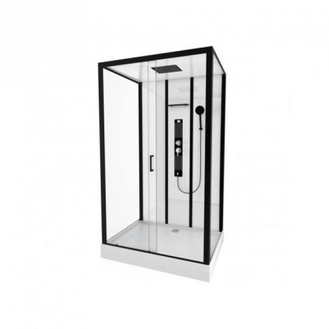Cabine de douche - Urban - Rectangle 115x90cm - portes coulissantes AURLANE