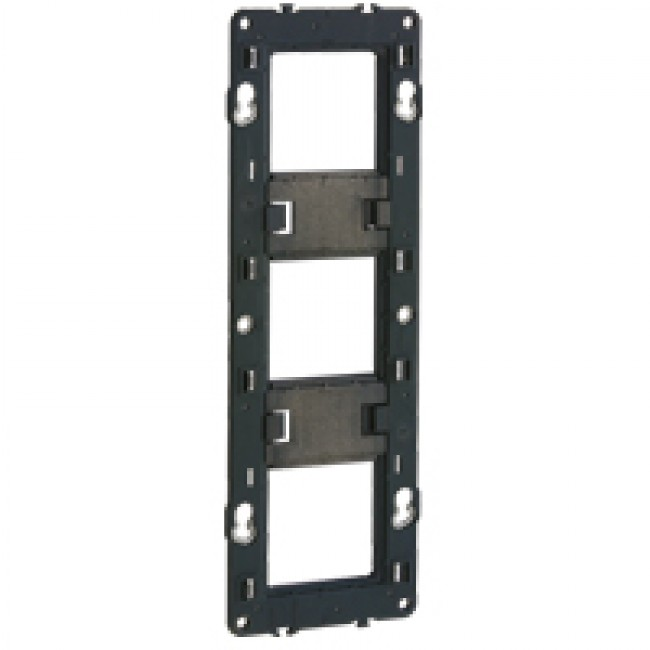 Support à vis Batibox - 3 postes - 6 ou 8 modules LEGRAND