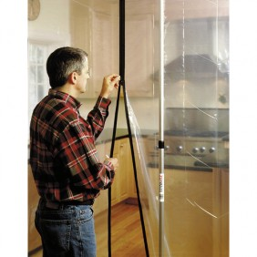 Boite de deux zippers pour barrière anti-poussières ZIPWALL TÉLESTEPS