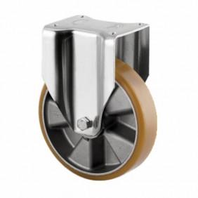 Roulette fixe - sur platine - pour charges lourdes - type 4688 TENTE