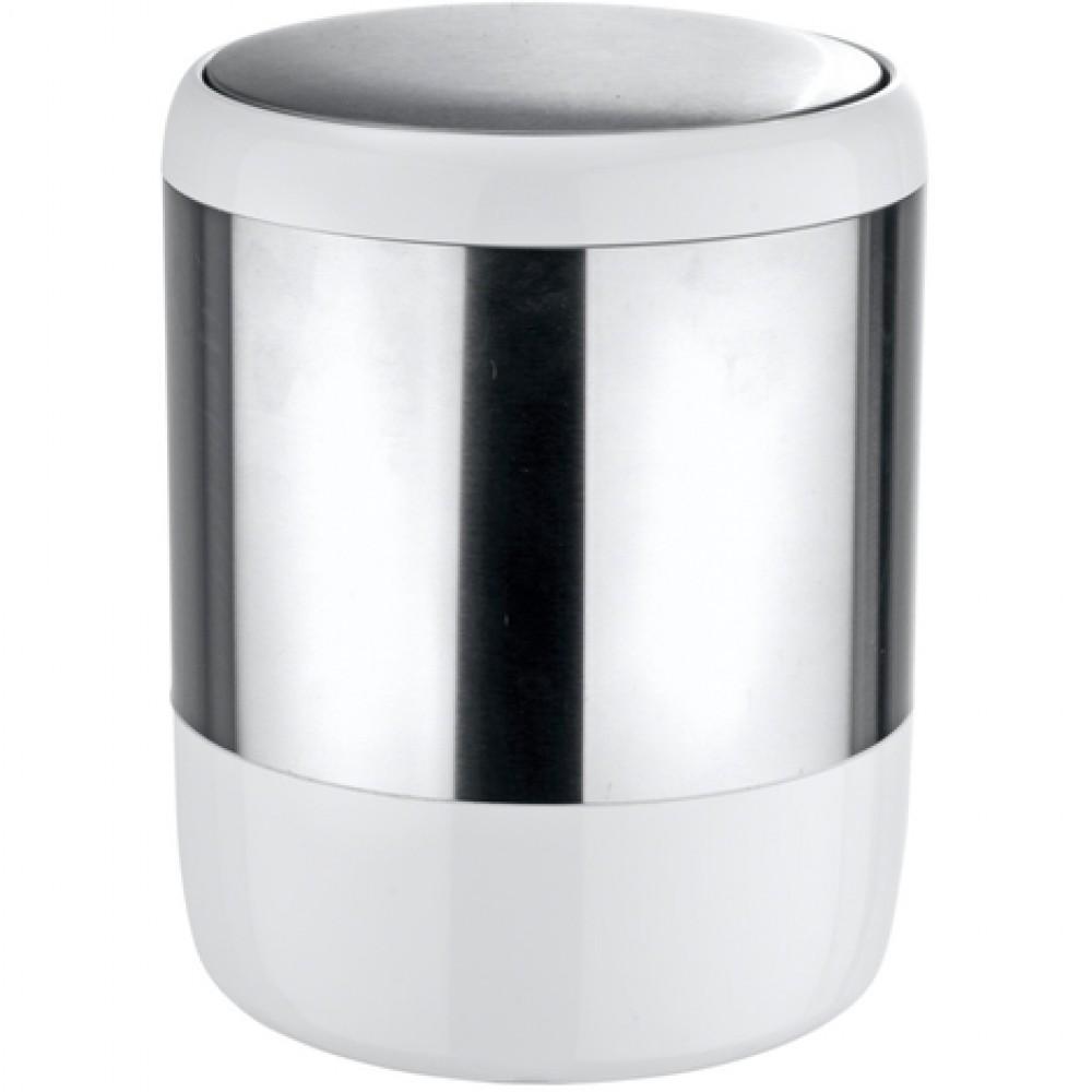 Poubelle De Salle De Bain A Couvercle Oscillant Design Loft 6