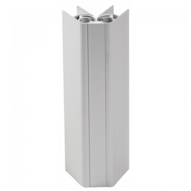 Angle plinthe en aluminium EMUCA