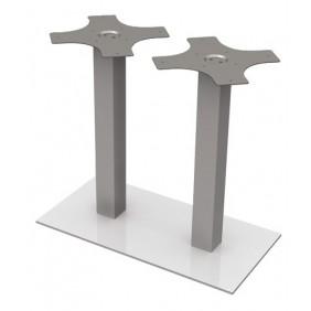 Pied double central - pour plateau de table - 725 et 1090 mm - Duplo EMUCA