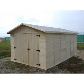 Garage en bois 13,2 m2 Eden 2848 HABRITA
