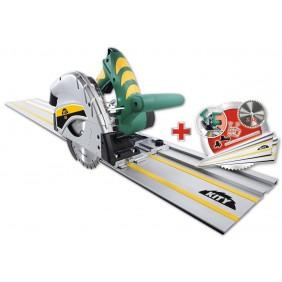 Scie plongeante Kity 550 avec 2 rails 700mm + lame 48 dents offerte KITY