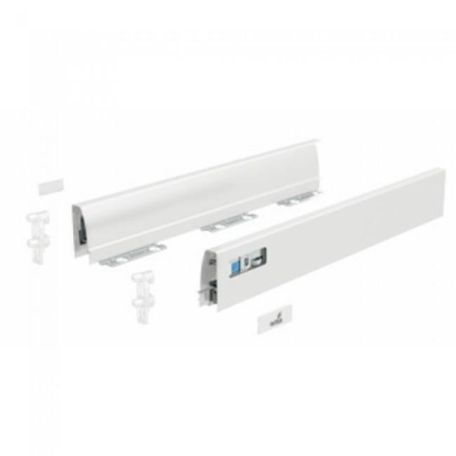 Profils pour tiroir InnoTech Atira-hauteur 54 mm-blanc HETTICH