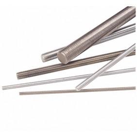 Tiges filetées acier brut 4.6 en 1 mètre FRANCE TIGES