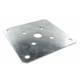 Platine optionnelle pour pied de poteau - PLPP180 SIMPSON Strong-Tie