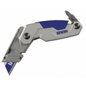 Cutter pliant à lame rétractable avec embouts - FK 250 IRWIN