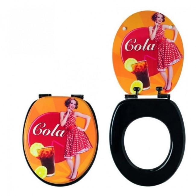 Abattant wc - sur cuvette standard - Cola Trendy Line WIRQUIN PRO